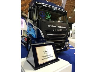 "IVECO Stralis NP 460 wins ""Sustainable Truck of the Year 2019"""