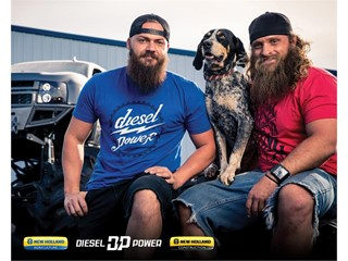 New Holland Announces Partnership Agreement with Custom Vehicle Builder and Social Media Personality Dave Sparks aka 'Heavy D'