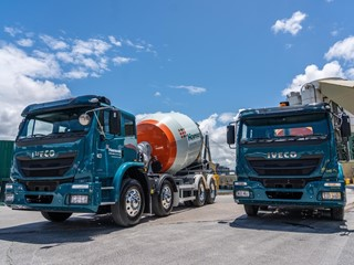 IVECO commences delivery of 82, Made in Australia, trucks to concrete and building materials provider Hanson