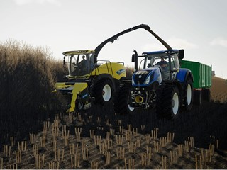 New Holland Agriculture farms in the virtual world with Farming Simulator 19