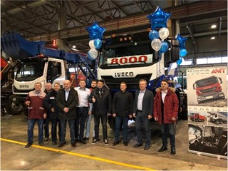 IVECO-AMT перешагнул отметку в 8000 автомобилей, собранных на заводе в г. Миасс