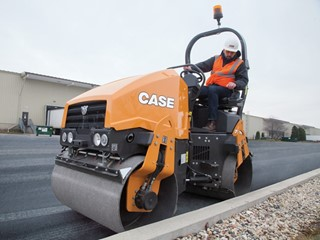 CASE Launches New Series of Small-Frame Vibratory Rollers