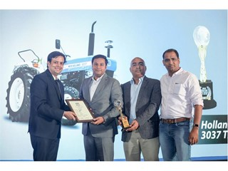 New Holland Agriculture stands out at the Indian Tractor of the Year Award (ITOTY) 2019