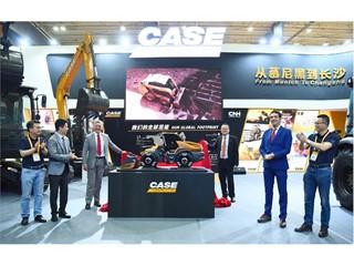 从慕尼黑到长沙,智能驱动时代,凯斯创新虔行 凯斯工程机械亮相2019中国(长沙)国际工程机械展览会