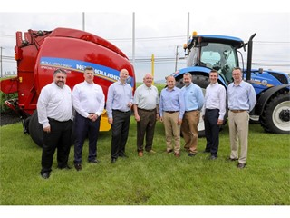 CNH Industrial hosts U.S. Secretary of Agriculture Sonny Perdue, U.S. Congressman Lloyd Smucker, and Local Agricultural Leaders at New Holland Plant