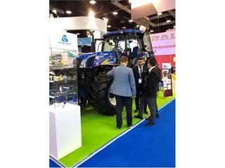 Газомоторные решения New Holland для сельскохозяйственной отрасли представили в рамках IX Петербургского международного газового форума
