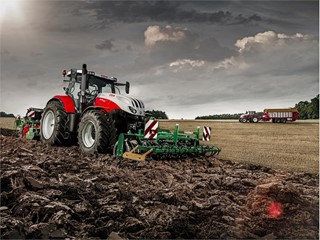 Agritechnica News: Into the future, with STEYR Traktoren
