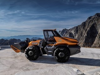 CASE Construction Equipment wins 2019 Good Design® Award for its methane-powered wheel loader concept, ProjectTETRA