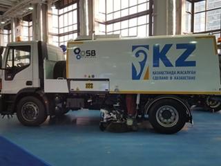 IVECO showcases Eurocargo trucks at the Kazavtodor-Kaztraffic-2019 international exhibition in Kazakhstan
