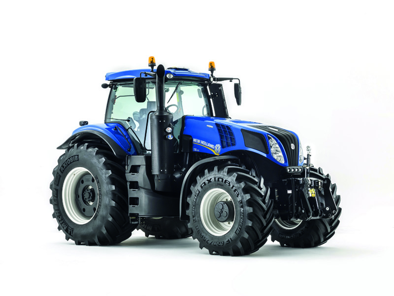New Holland Agriculture upgraded T8 Tractor Range set for UK debut at LAMMA 2015