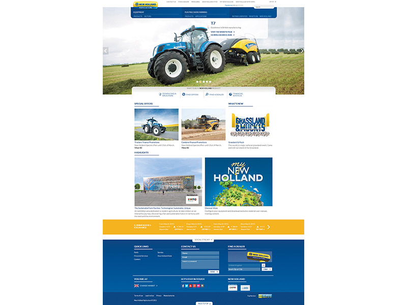 NH New Website HomePage