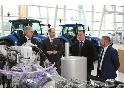 1 HRH The Earl of Wessex Royal Visit CNH Industrial Basildon