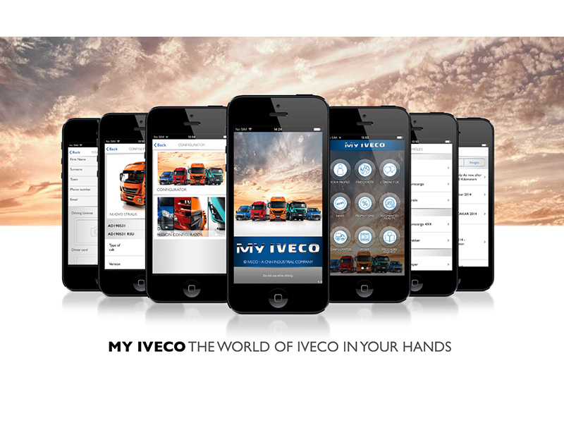 MY IVECO: Iveco's new app for tablet and smartphone