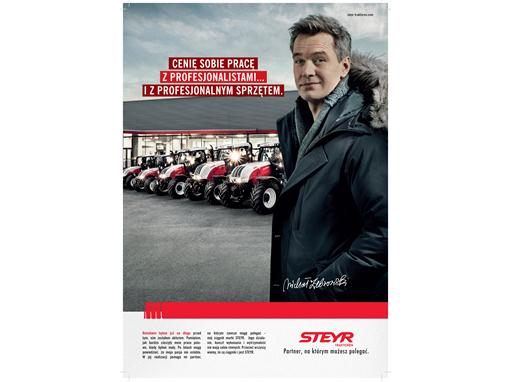 Michal Zebrowski Chooses STEYR Tractor