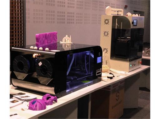 Additive Manufacturing demonstration at CNH Industrial Village