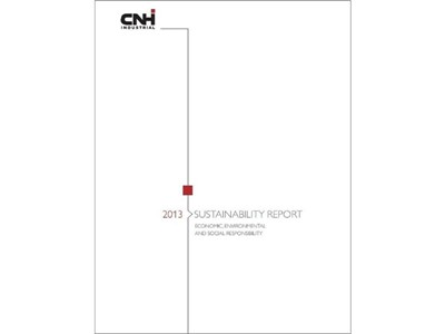 CNH Industrial Sustainability Report 2013