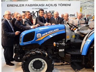 TürkTraktör Opens Second Tractor Plant in Turkey