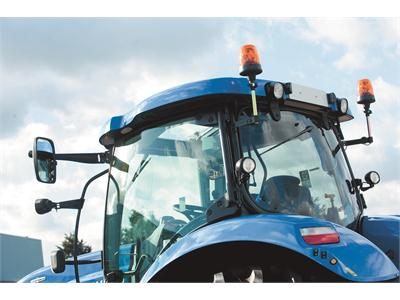 New Holland upgrades its industry leading Horizon™ Cab on the T6 and T7 tractor ranges