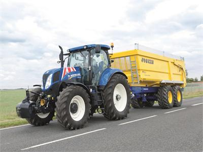 New Holland's Basildon-built tractors star in Top Gear's Buckingham Palace tribute to the best of Great British manufacturing