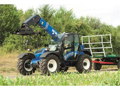 New Holland set to unveil new generation LM telehandler for the first time in the UK at LAMMA