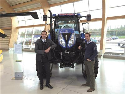 Two new appointments for New Holland's UK and ROI marketing team