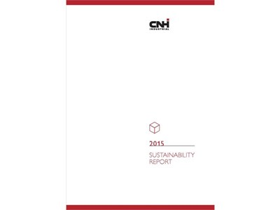 CNH Industrial Sustainability Report 2015