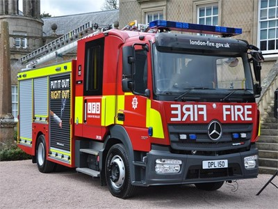 London Fire Brigade choose Magirus Team Cab