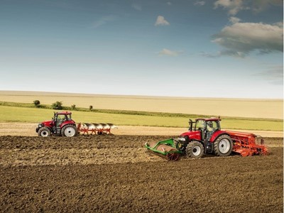The new Case IH LUXXUM makes its appearance