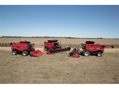 Redesigned Axial-Flow® 140 Series Combines and Steiger® Tractor Updates Highlight Case IH 2016 Cash Crop Lineup