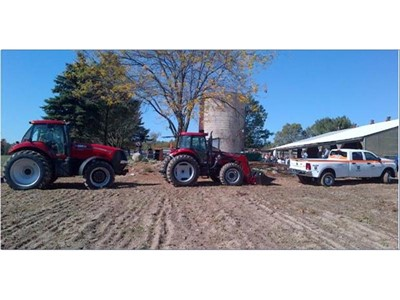 Forgotten Harvest Receives Record-Breaking Farm Equipment Donation from Ram Truck, Case IH and New Holland Agriculture