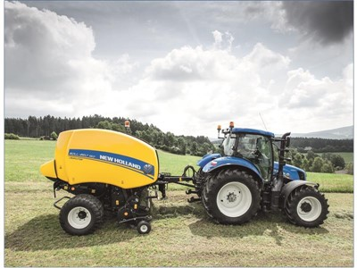 New Holland upgrades Roll-Belt variable chamber balers, increases productivity and baling performance