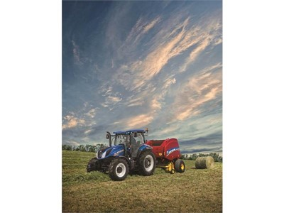 New Holland T6 All-Purpose Premium Tractor Series Introduces New Styling and Delivers Ultimate Power and Efficiency, Unmatched Comfort and Maneuverability