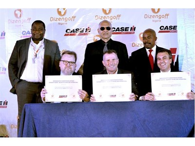 Case IH enters Nigerian tractor market with strong model line-up in partnership with new exclusive distributor Dizengoff