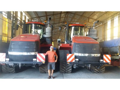 Case IH Quadtracs help Danish company to revolutionise farming in Slovakia