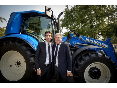 CNH Industrial showcased at G7 Agriculture in Bergamo, Italy