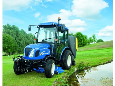 New Holland to showcase its compact tractor and mini excavator ranges at this year's Saltex event