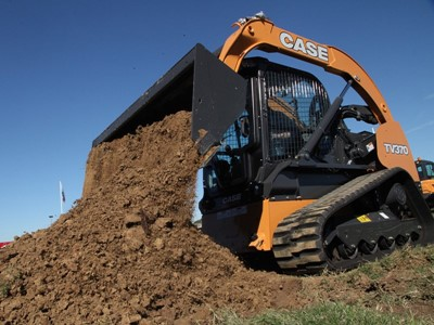 CASE Launches All-New TV370 Compact Track Loader