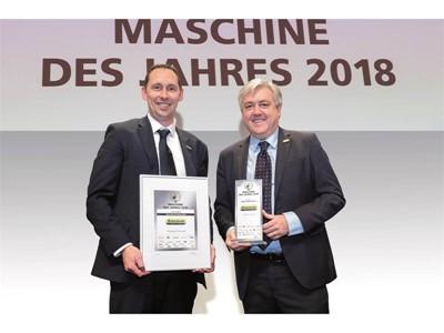Трактор New Holland T6.175 Dynamic CommandTM получил титул «Машина года 2018» в категории тракторов средней мощности на выставке Agritechnica 2017