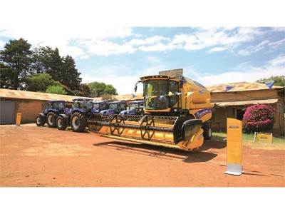 "Handover of New Holland products to GIZ ""Agricultural Mechanisation and Technology for Smallholder Productivity"" and ""Green Innovation Centre"" Projects in Ethiopia"