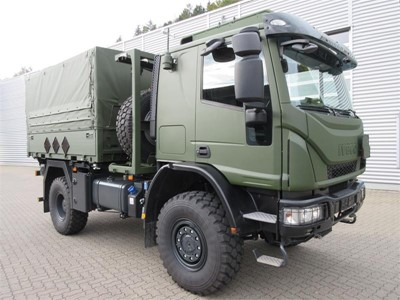 Iveco Defence Vehicles supplies the Bundeswehr with new military Medium Multipurpose Eurocargo 4x4 Euro 6 compliant trucks