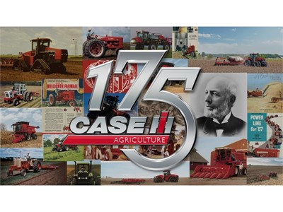Case IH celebrates 175 years at the cutting edge of agricultural equipment production in 2017