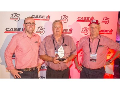 Intersales and O'Connors crowned 2016 Case IH Dealers of the Year