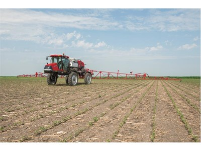 Precision and comfort make the case for Patriot sprayer