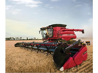 Maximum input efficiency with Case IH's grain analyser technology