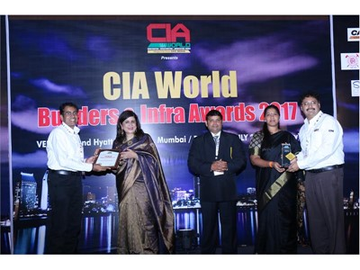 CASE recognised as 'Best Construction Equipment Company' at CIA World Builders and Infra Awards