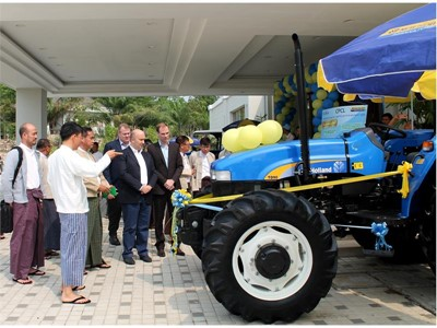 New Holland Agriculture to deliver 600 tractors to the Myanmar Government