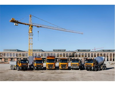 IVECO presents the new Stralis X-WAY and its sustainable vehicle ranges for the construction industry at Paris Intermat 2018 answering President Macron's call for massive conversion of heavy truck fleets to gas