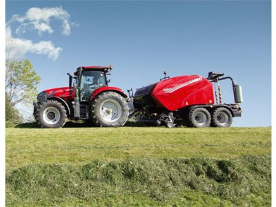 Case IH to show upgraded balers and new record-breaking Maxxum tractor at Grassland UK