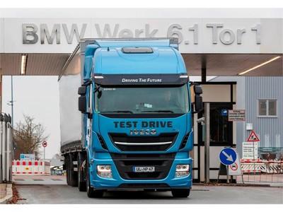 BMW Group выбирает Stralis NP, тестируя технологию СПГ для решения своих логистических задач в рамках проекта «Инновации и промышленность 4.0»