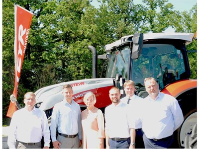 STEYR tractors now available in Latvia